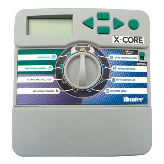 6 Zónás vezérlő Hunter, X-CORE601 iE
