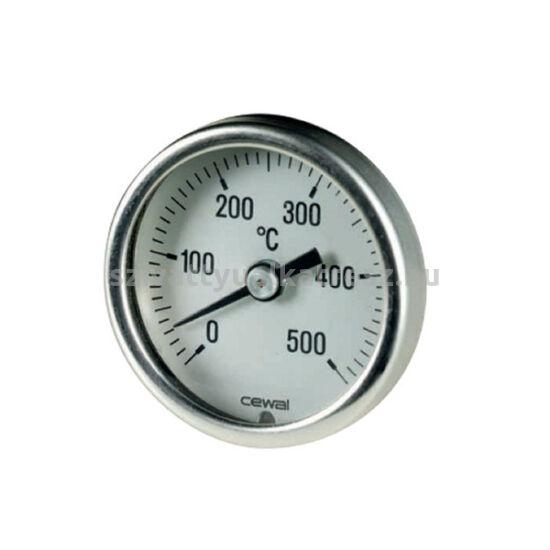 Bimetál hőmérő 0-500C°