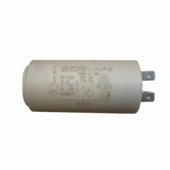 Kondenzátor 16µF-os, 10M-es szivattyúhoz Pedrollo