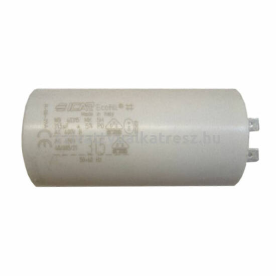 Kondenzátor 31,5µF, Jswm 3CL  szivattyúhoz Pedrollo